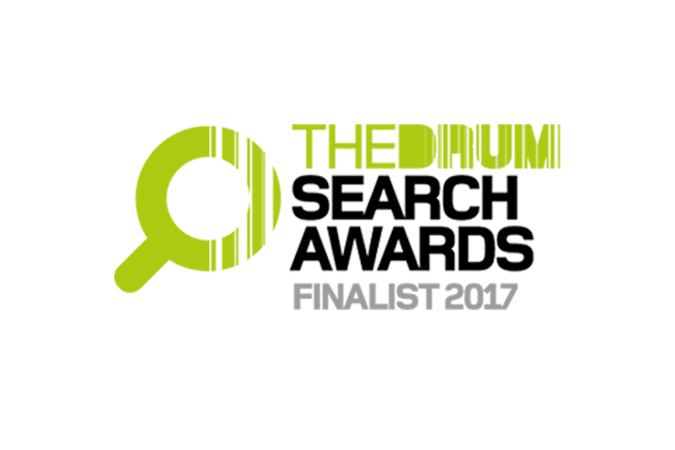 Finalist in The Drum Search Awards