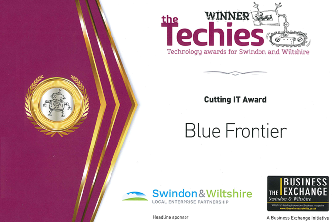 Won the Cutting IT Techies Award