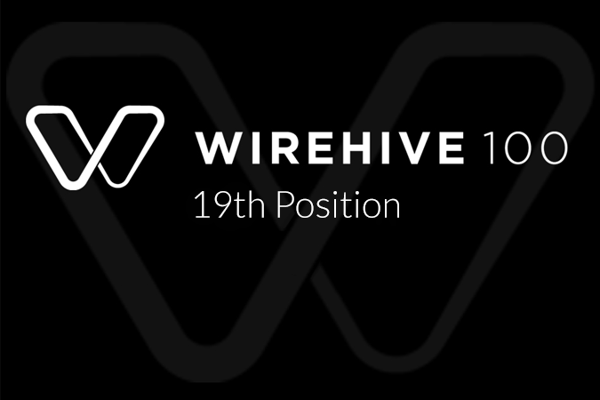 19th in The Wirehive 100