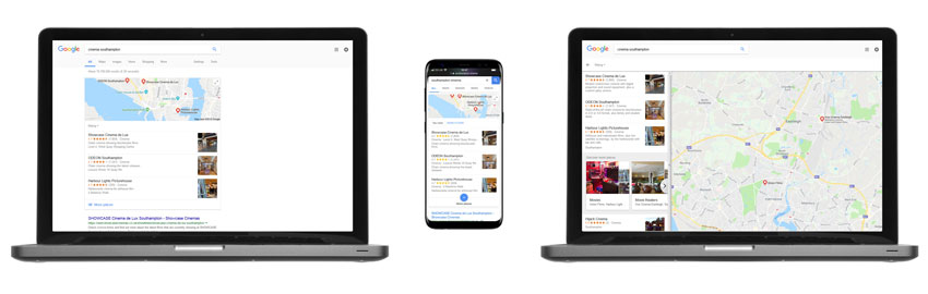 Google My Business on Devices