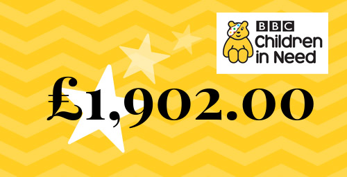 Total Raised for BBC Children in Need