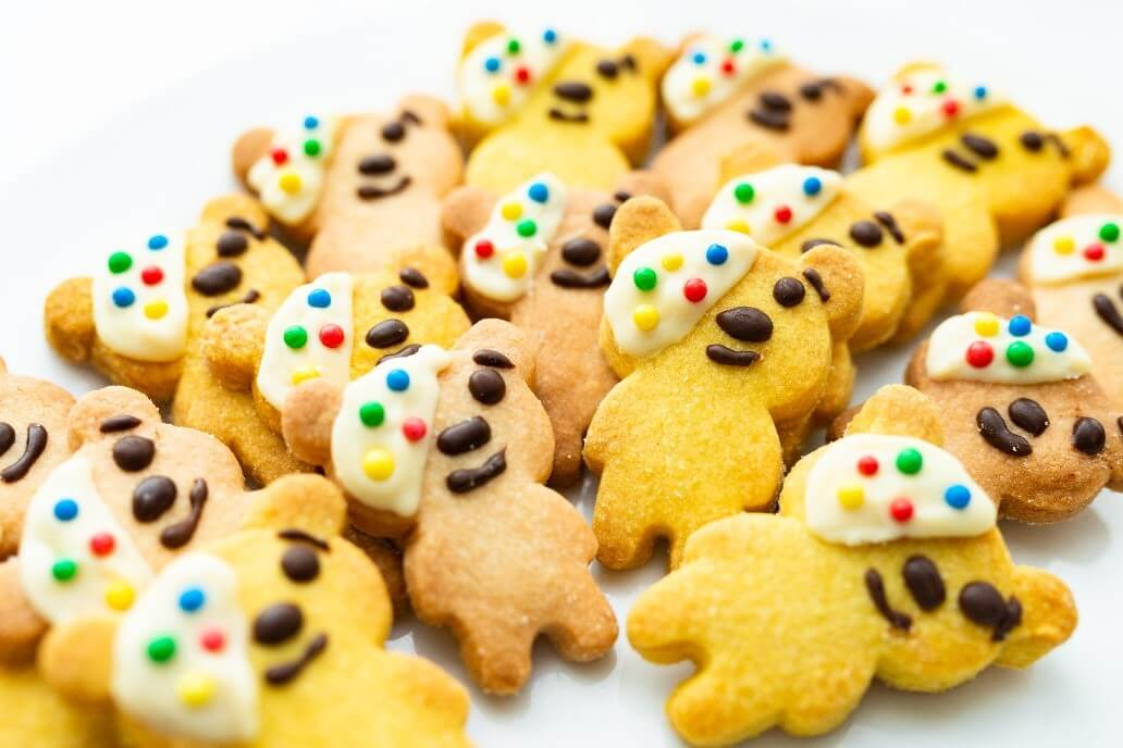 Pudsey Bear Biscuits