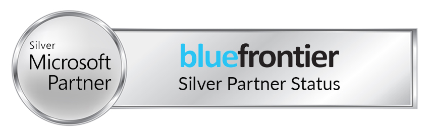Blue Frontier Silver Microsoft Partner Status