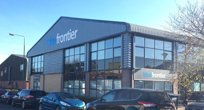 Outside photo of Blue Frontiers office