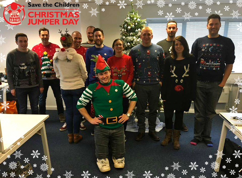 Christmas Jumper Day Photo