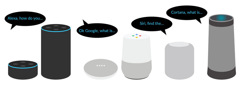 Voice Search Smart Home Devices