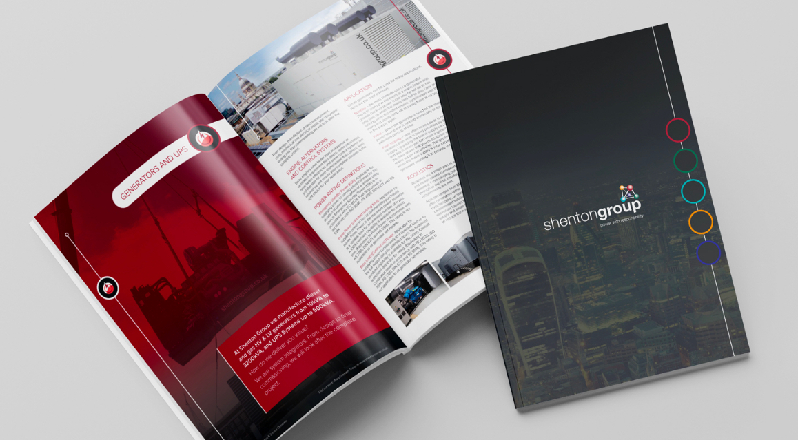 Brochure Design - Shenton Group