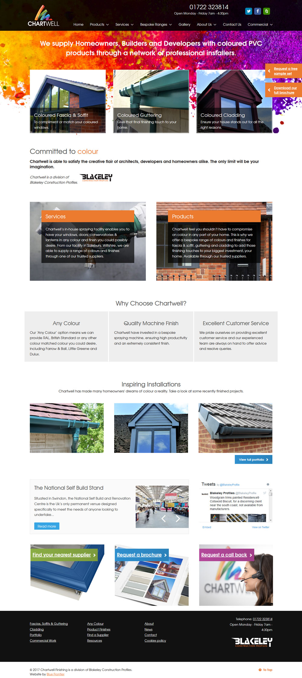 Chartwell Web Design - Full View
