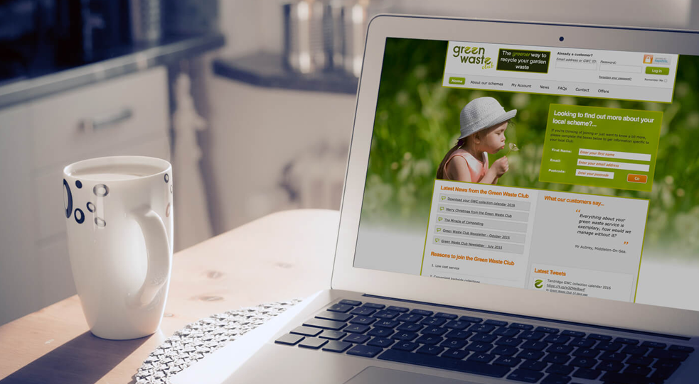 Green Waste Club Website Design