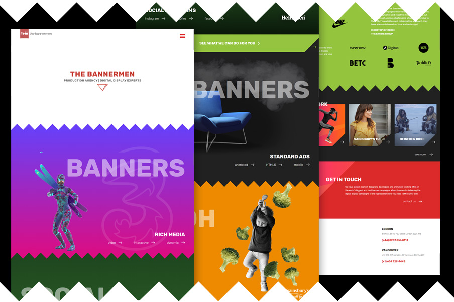 the bannermen website