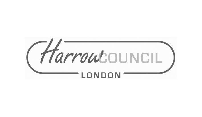 Harrow Council logo - Website Design Solutions