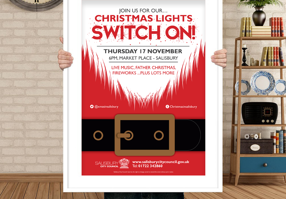 Christmas Lights Switch On 2016 Marketing Campaign