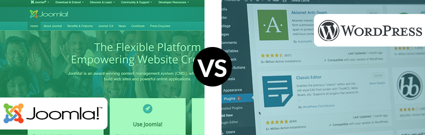 WordPress VS Joomla- Which One Will Suit Your Business?