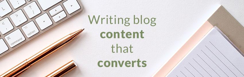 Blog Content That Converts