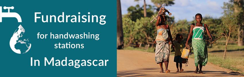 Fundraising for Handwashing Stations in Madagascar | Coronavirus Charity Work