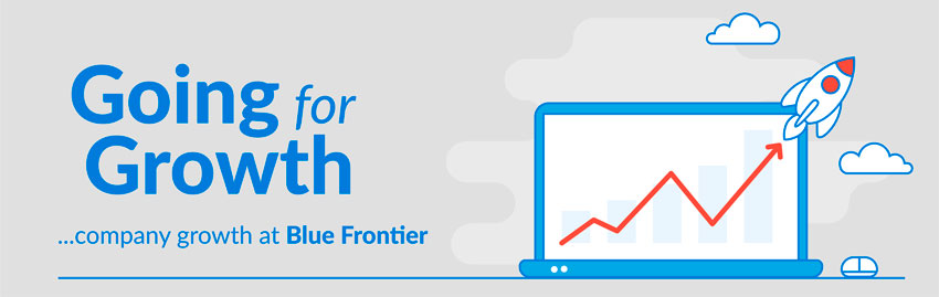 Company Growth at Blue Frontier