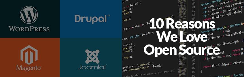 10 Reasons We Love Open Source