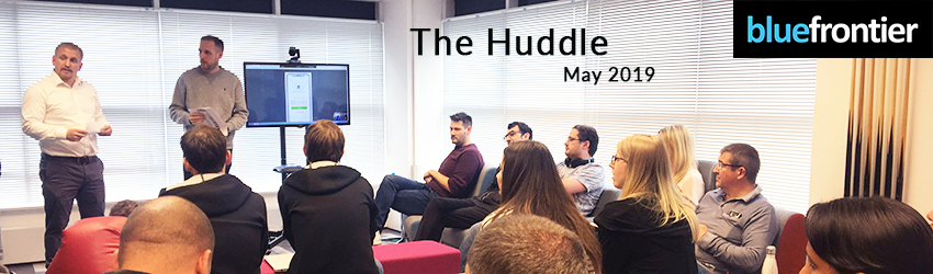 Huddle at Blue Frontier - May 2019