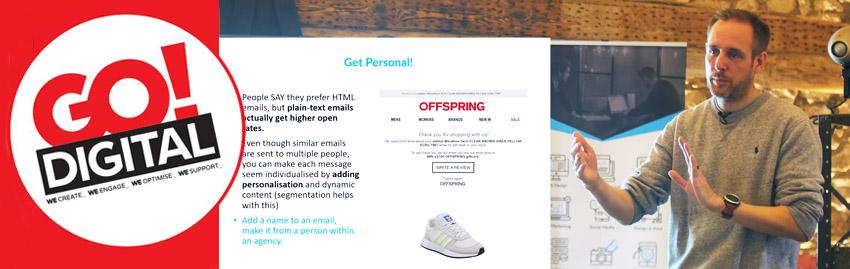 Email Marketing - Blue Frontier's Latest Go! Digital Talk