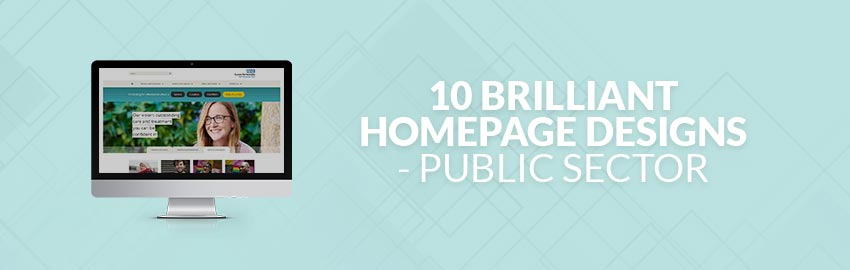 10 Brilliant Homepage Designs - Public Sector