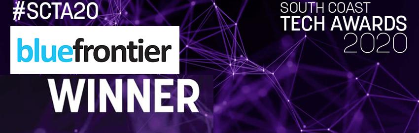 Blue Frontier Win The High Growth Tech Business Award