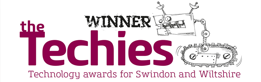 Winner at the Techies Awards 2020