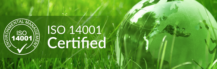 Blue Frontier Now ISO 14001 Certified