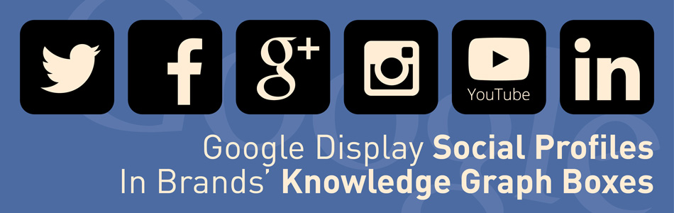 Google Display Social Profiles In Brands' Knowledge Graph Boxes