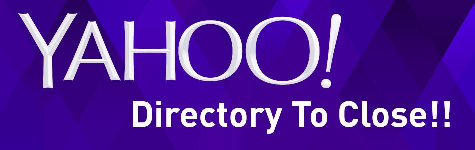 Yahoo Directory To Close